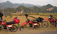 Day trip on motorbike in Vietnam