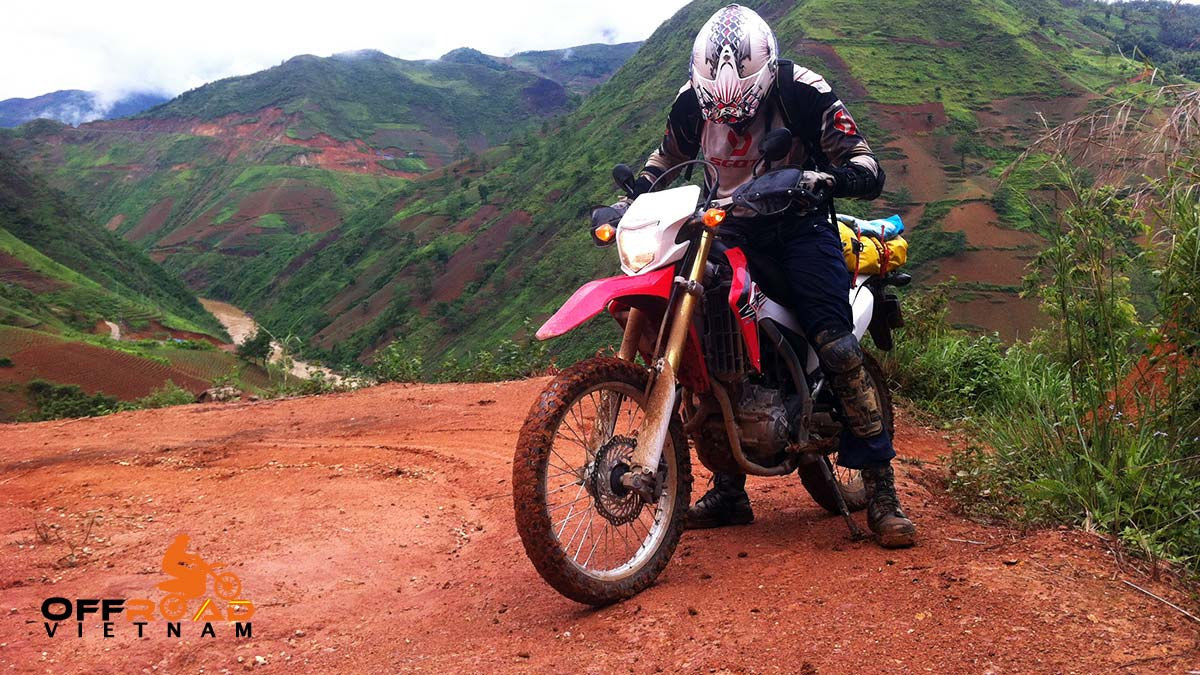 Vietnam Motorcycle Motorbike Tours - Ho Chi Minh Trail: Mai Chau and Hoa Binh on Ho Chi Minh Trail tour