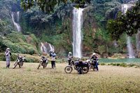 14-day trip on motorcycles riding through North Vietnam in a big loop