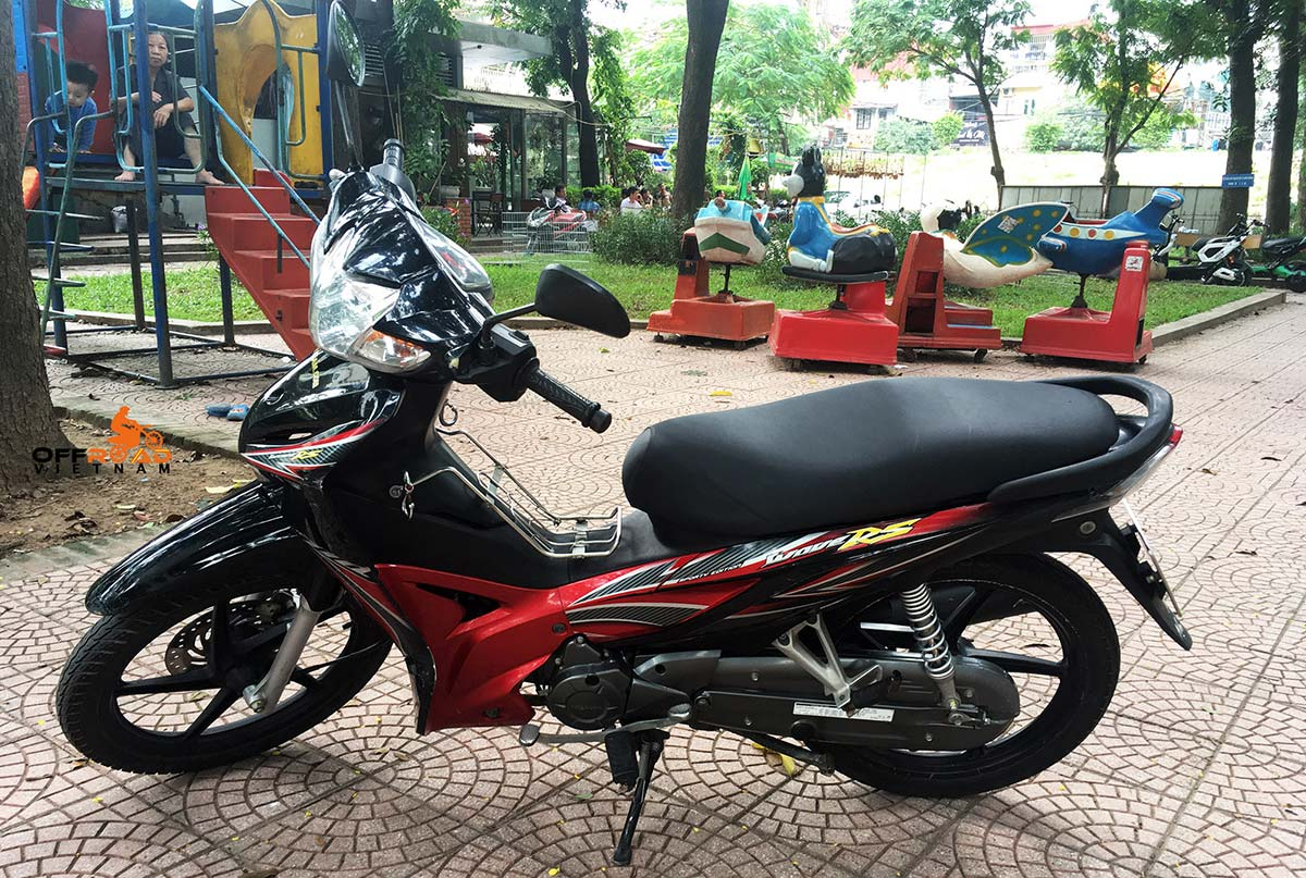 Vietnam Motorcycle Motorbike Tours - Bike Fleet. Honda Wave RS/S/RSX semi-automatic 110cc