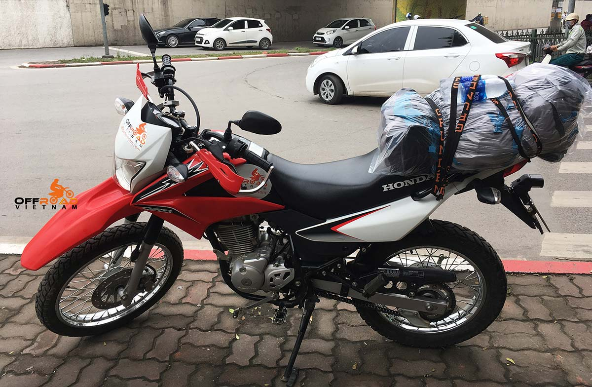 Vietnam Motorcycle Motorbike Tours - Bike Fleet. Honda XR150 dirt bike