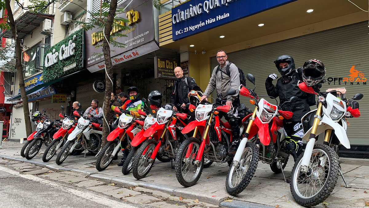 Motorbike tours from Hanoi with spaces open you can join.