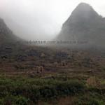 Northern Vietnam motorbike tour on a misty day
