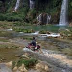 Motorbiking in Ban Gioc through Northeast Vietnam with Vietnam Motorcycle Motorbike Tours