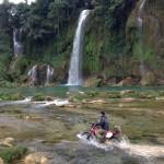Ban Gioc waterfalls motorbiking, Cao Bang province