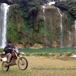 Ban Gioc waterfalls motorcycling, Cao Bang province
