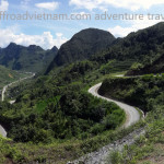 Ha Giang snake ways and Northeast Vietnam with Vietnam Motorcycle Motorbike Tours on two wheels